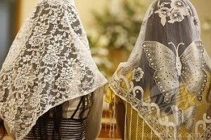 Q: Should women cover their heads in church and where did that tradition come from? Is this practice even appropriate?